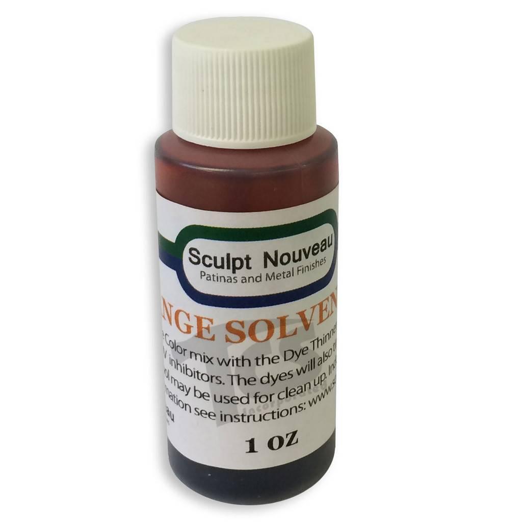Sculpt Nouveau Solvent Dye Orange 1oz