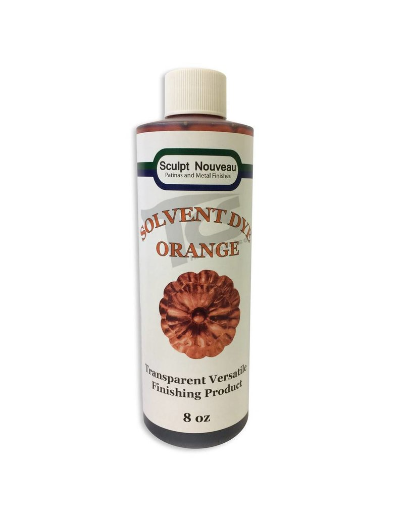 Sculpt Nouveau Solvent Dye Orange 8oz