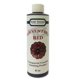 Sculpt Nouveau Solvent Dye Red 8oz