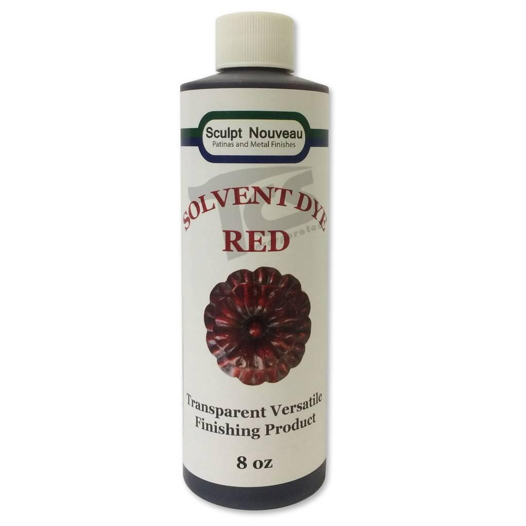 Sculpt Nouveau Solvent Dye Red 8oz