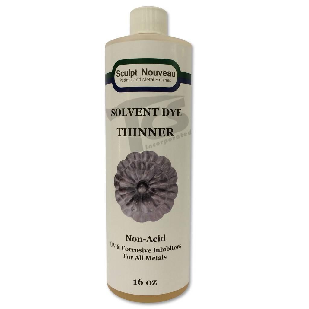 Sculpt Nouveau Solvent Dye Thinner 16oz