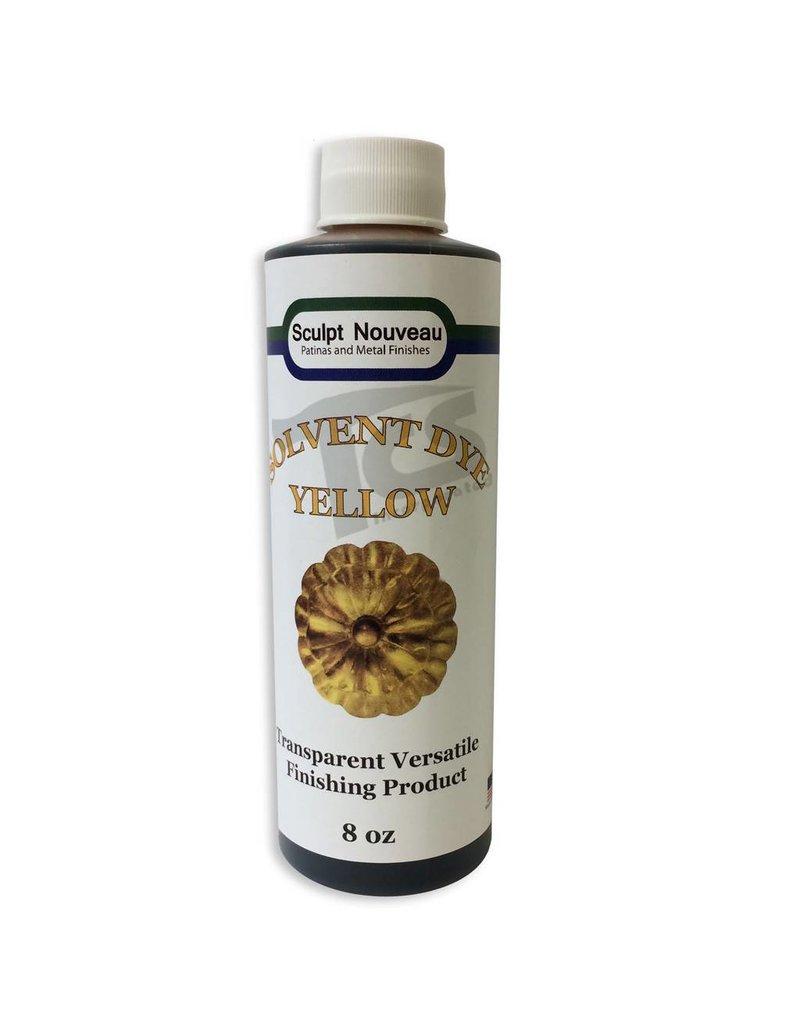 Sculpt Nouveau Solvent Dye Yellow 8oz