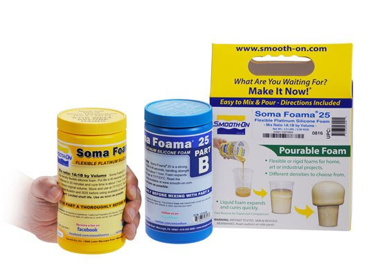 Smooth-On Soma Foama 25 Trial Kit Special Order