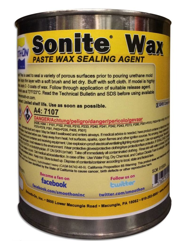 Smooth-On Sonite Wax Release Quart
