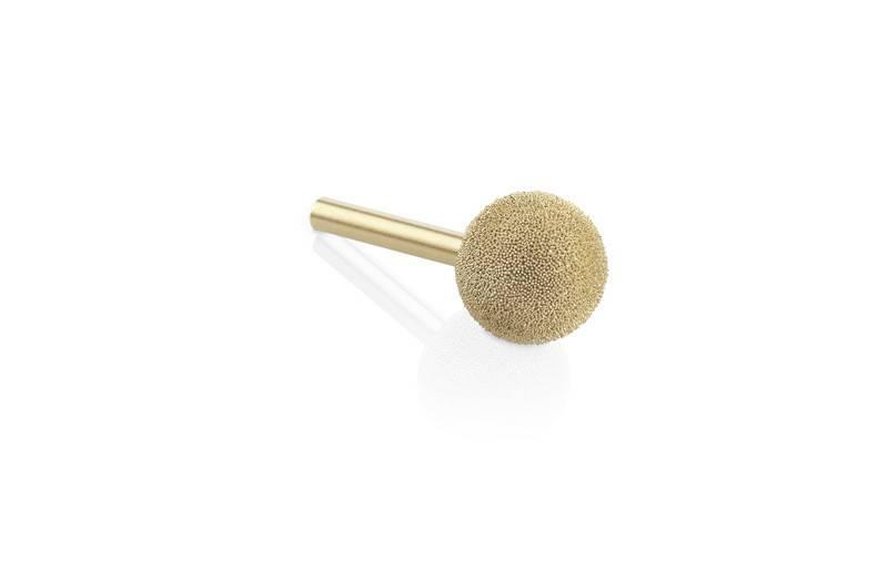 Kutzall Sphere Gold SSG 1''D x 1''L x 1/4'' Shank