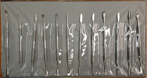 Just Sculpt Stainless Dental Tool Set 12pc