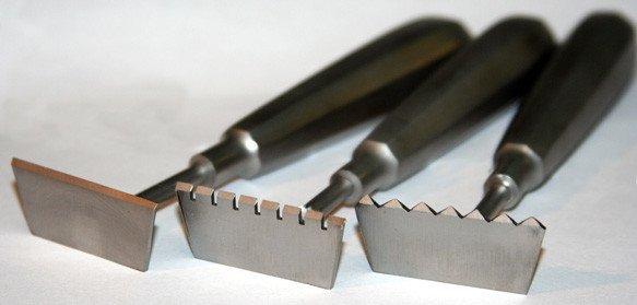 Just Sculpt Stainless Rake 2 1/2in Flat Teeth 432842012