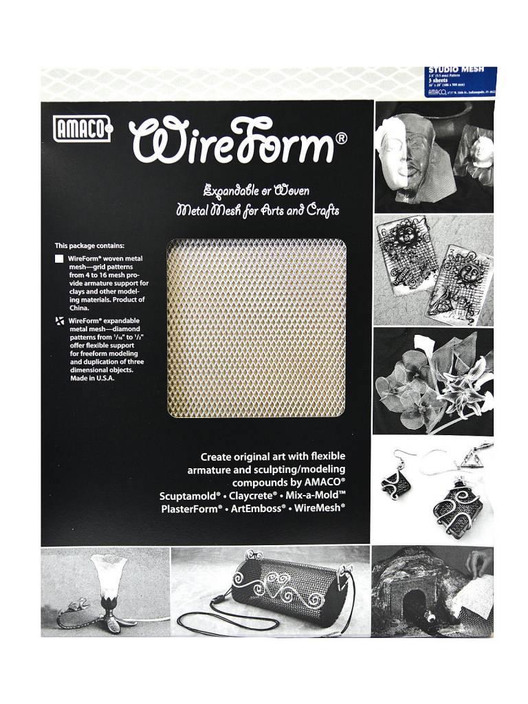 Amaco Studio Mesh 16''x20'' 3 Sheets Wireform