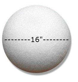 Styrofoam Ball 16''