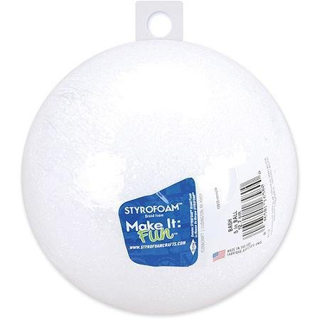 Styrofoam Ball 5''
