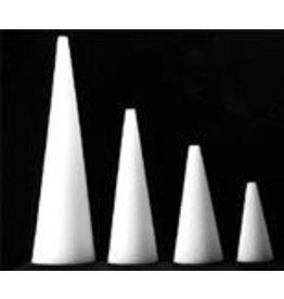 Styrofoam Cones 4''x2.5'' 2pc