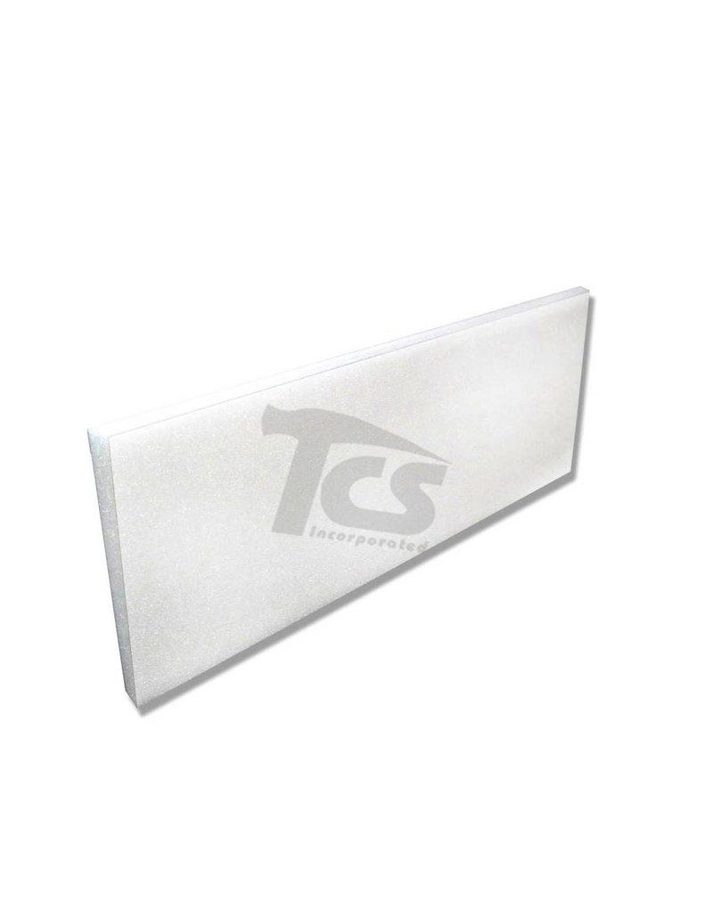 Styrofoam Sheet 36''x12''x1/2''