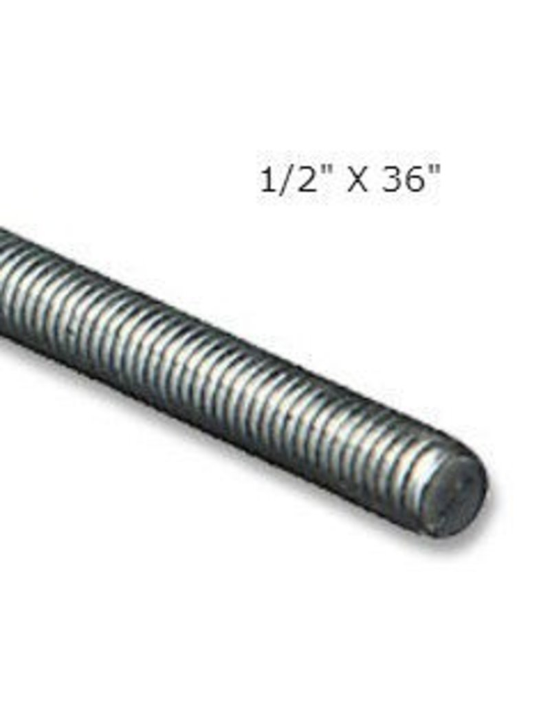 Just Sculpt Threaded Rod 1/2'' x 36''