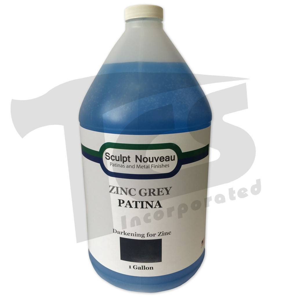 Sculpt Nouveau Traditional Zinc Grey Patina Gallon