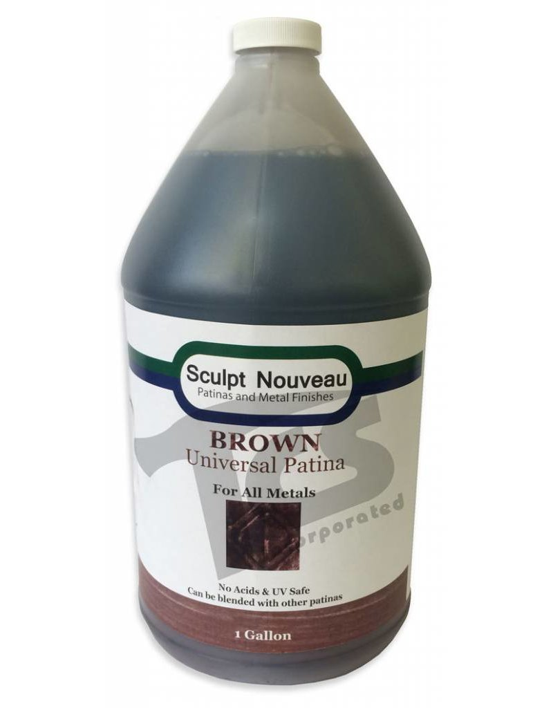 Sculpt Nouveau Universal Brown Patina Gallon
