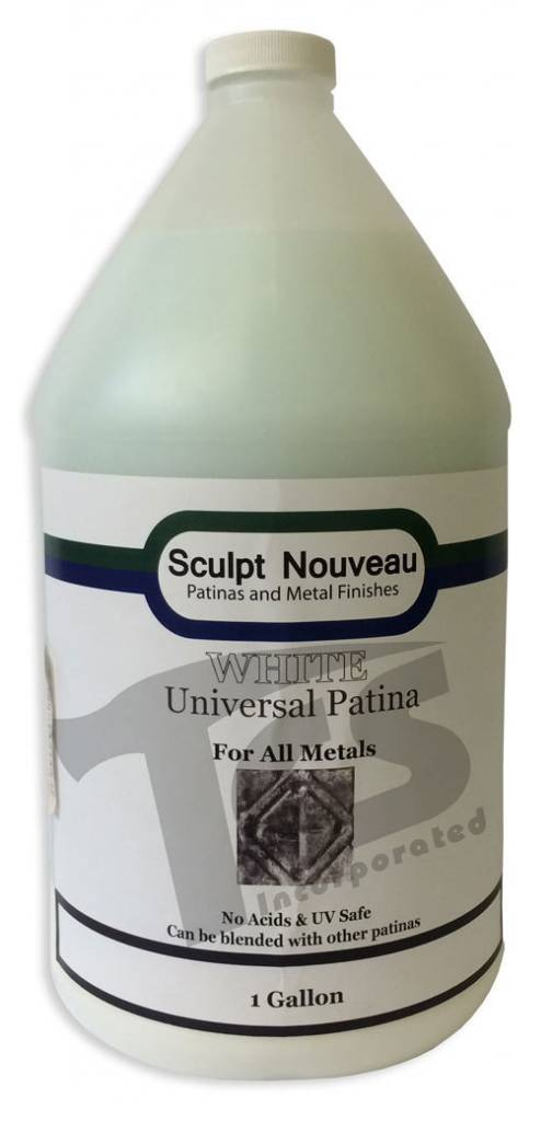 Sculpt Nouveau Universal White Patina Gallon