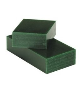 Du-Matt Carving Wax Bar Green 1/2lb
