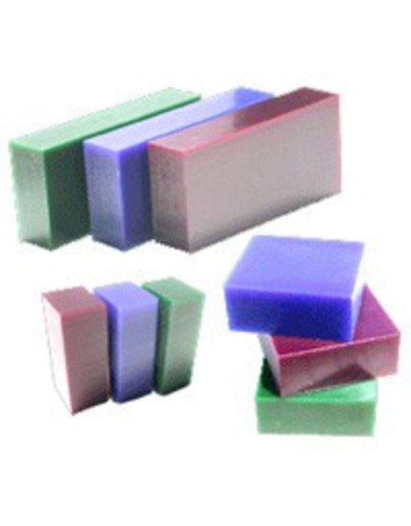 Du-Matt Carving Wax Bar Purple 1/2lb
