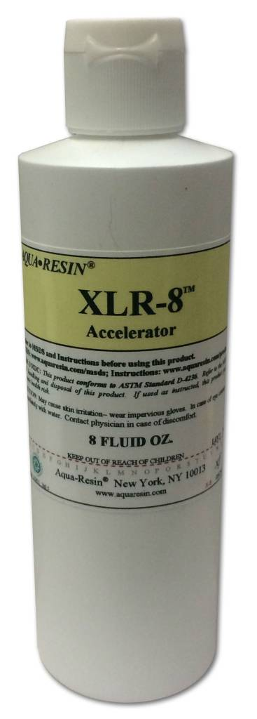 Aquaresin XLR-8 Accelerator 8oz Aqua-Resin