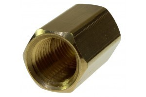 Coilhose Hex Coupling, 1/4'' FPT x 1/4'' FPT K0404