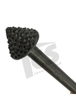 Milani Steel Pointed Mushroom Rasp Handled