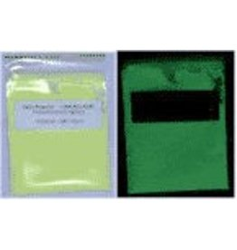Just Sculpt Glow-In-The-Dark Pigment Green 1oz
