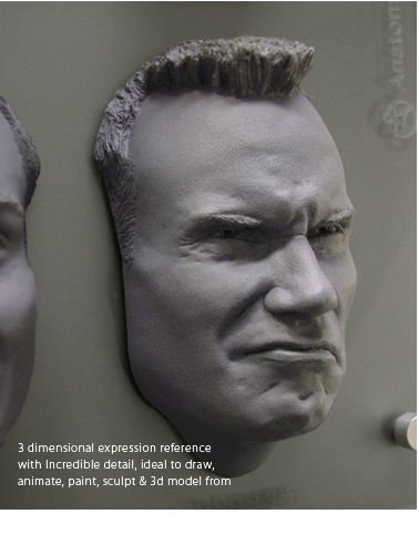 Anatomy tools Anatomy Tools Male Facial Expression Sheet