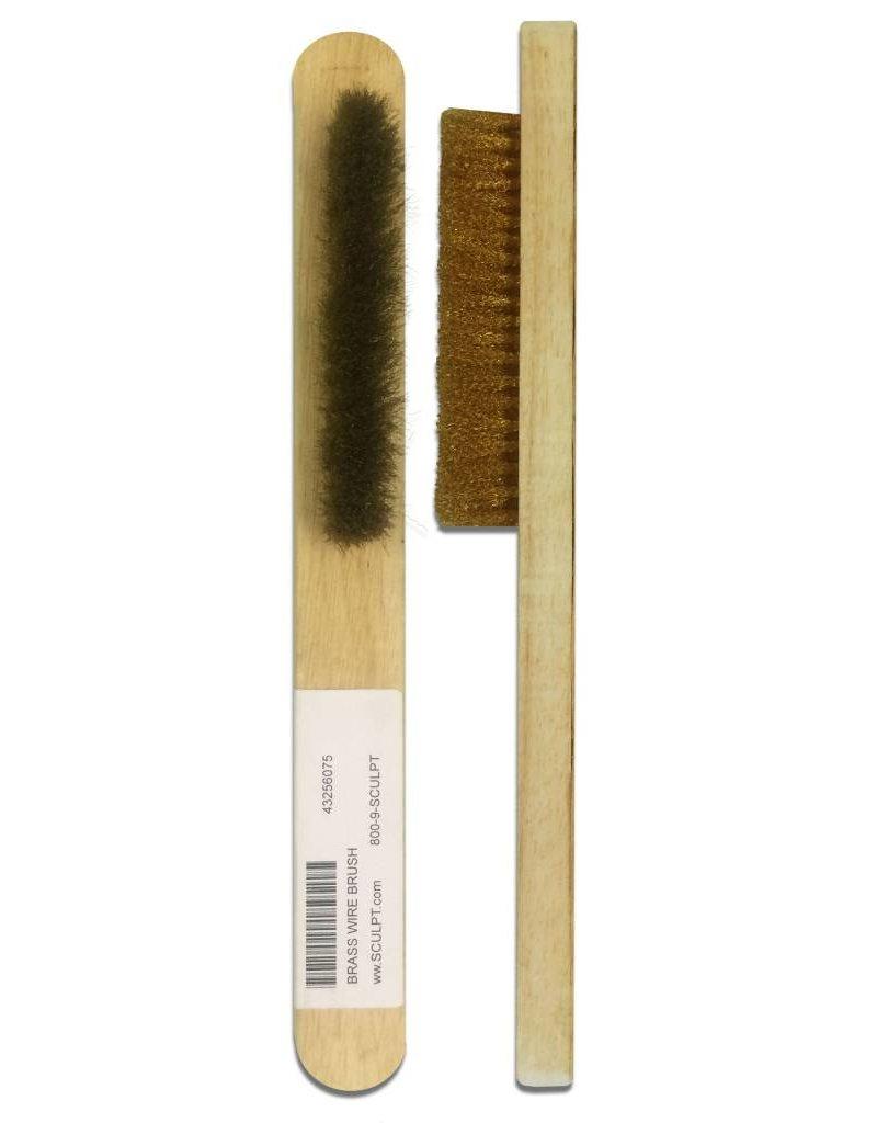 Just Sculpt Brass Wire Brush Medium