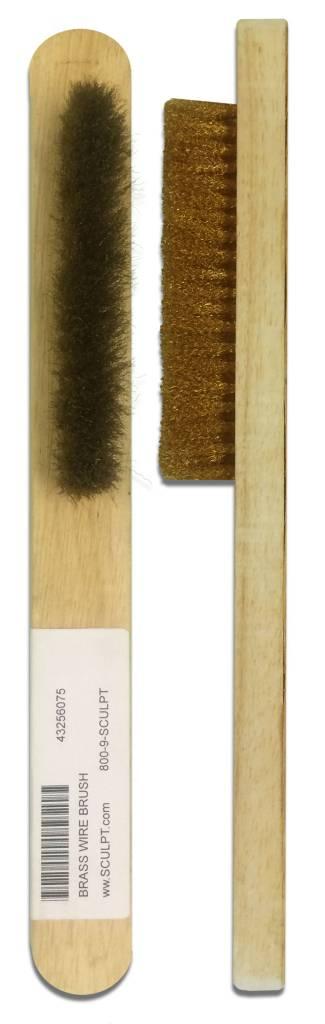 Brass Wire Brush Medium