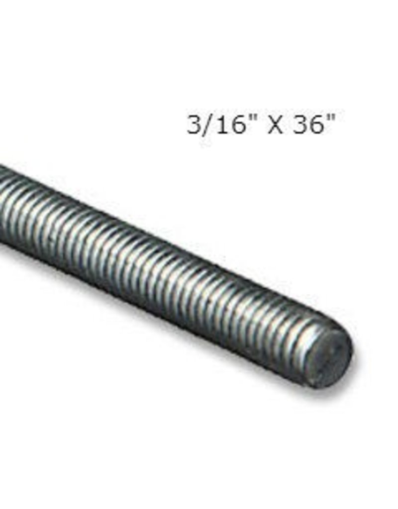 Just Sculpt Threaded Rod 3/16''x36''