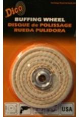 Dico 4'' x 1/2'' Firm Spiral Buff 527-40-4
