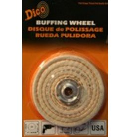 Dico 4'' x 1/2'' Firm Spiral Buff 527-40-4