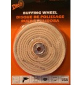 Dico 6'' x 1/2'' Firm Spiral Buff 527-40-6