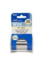 28 Gauge Silver Wire
