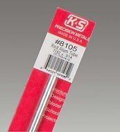 K & S Engineering Aluminum Tube 7/32''x.014''x12'' #8105