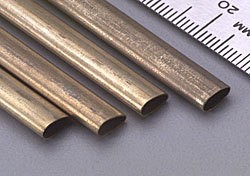 K & S Engineering Small Brass Streamline 12'' #8122