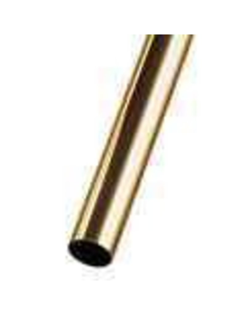 K & S Engineering Brass Tube 5/32''x.014''x12'' #8128