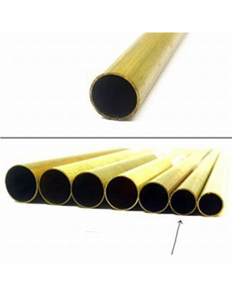 K & S Engineering Brass Tube 5/16''x.014''x12'' #8133
