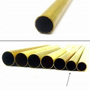 K & S Engineering Brass Tube 5/16''x.014''x12'' #8133