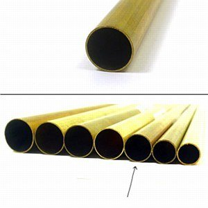 K & S Engineering Brass Tube 3/8''x.014''x12'' #8135