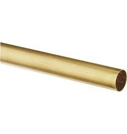 K & S Engineering Brass Tube 13/32''x.014''x12'' #8136