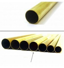 K & S Engineering Brass Tube 7/16''x.014''x12'' #8137