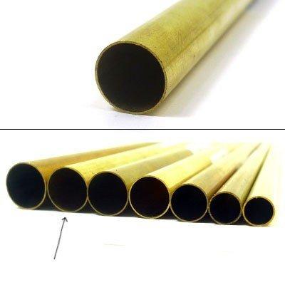 "K & S Engineering Brass Tube 1/2""x.014""x12'' #8139"
