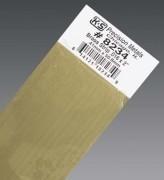 K & S Engineering Brass Strip .016''x2''x12'' #8234