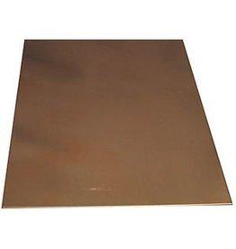 K & S Engineering Copper Sheet .016''x4''x10'' #277