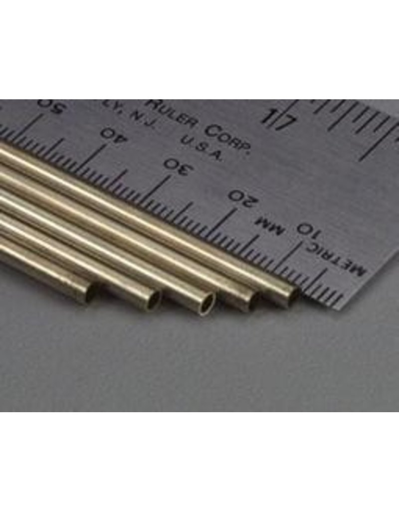 K & S Engineering Brass Tube 1/8''x.014''x36'' #1145