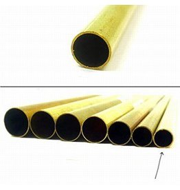 K & S Engineering Brass Tube 9/32''x.014''x36'' #1150