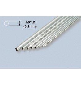 K & S Engineering Aluminum Tube 1/8''x.014''x12'' (3pcs) #8102