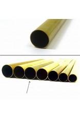 K & S Engineering Brass Tube 15/32''x.014''x36'' #9113