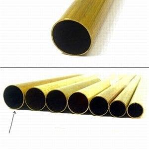 K & S Engineering Brass Tube 17/32''x.014''x36'' #9117